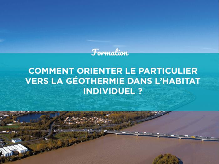 géoatlantic formation géothermie conseillers grand public