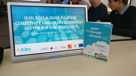 PCAET/TEPCV Gironde groupe échanges 28 mars 2019